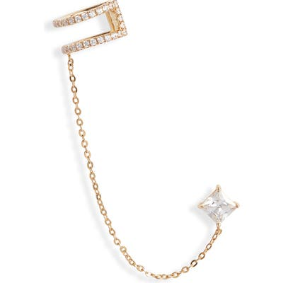 Nordstrom Chained Stud Ear Cuff