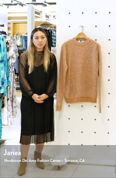 Classic Fit Ribbed Mock Neck Sweater, sales video thumbnail