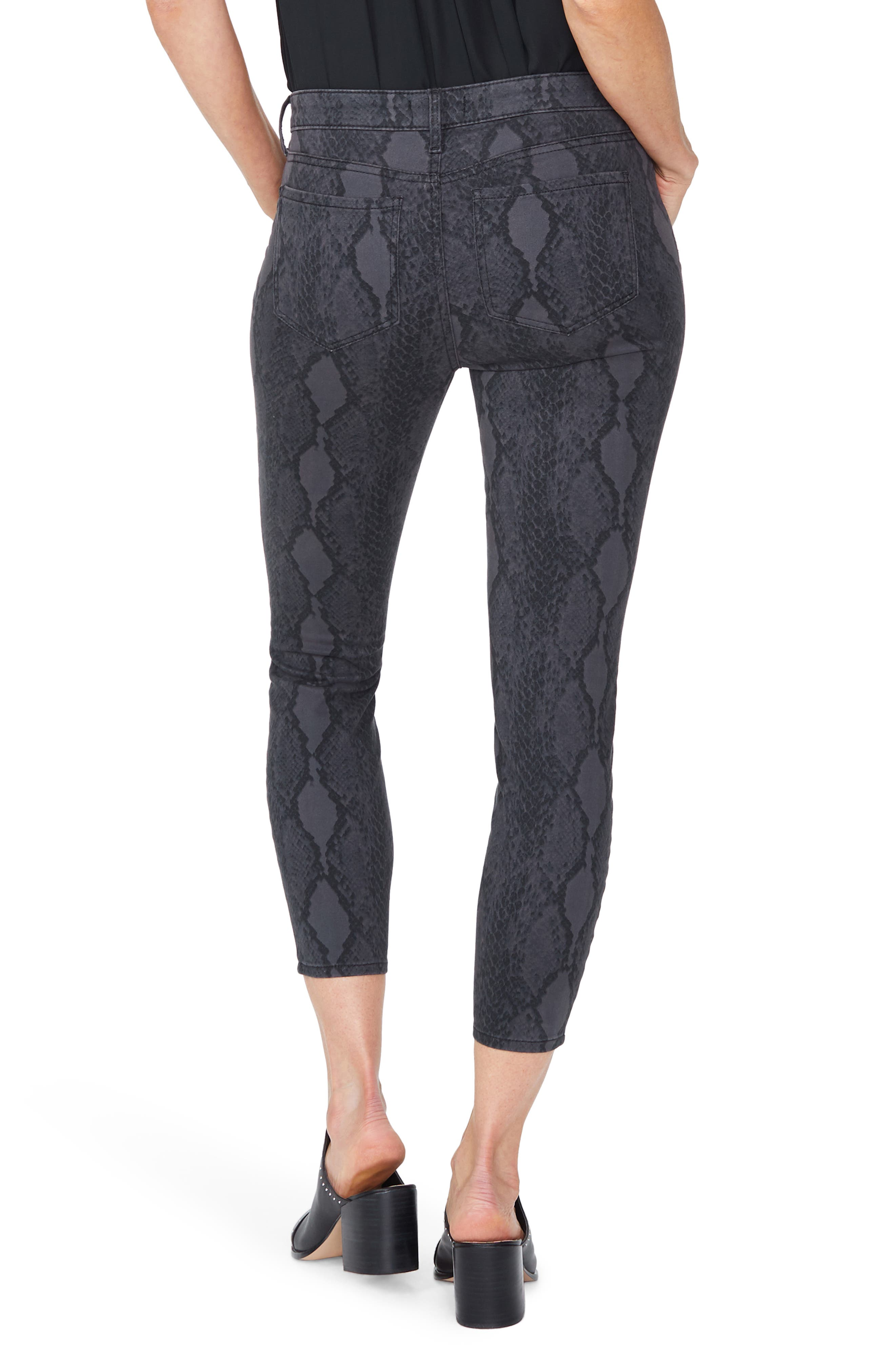 ,                             Ami High Waist Camo Ankle Skinny Jeans,                             Alternate thumbnail 2, color,                             DIAMONDBACK