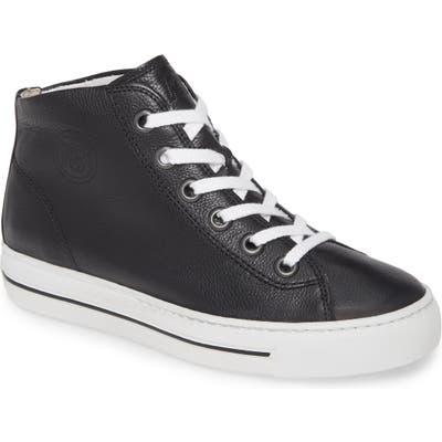 Paul Green Bronte High Top Sneaker - Black
