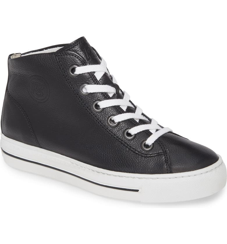 PAUL GREEN Bronte High Top Sneaker, Main, color, 001