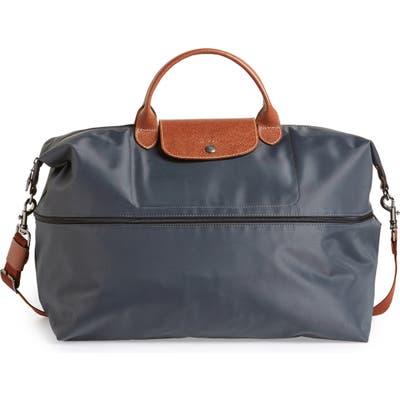 Longchamp Le Pliage 21-Inch Expandable Travel Bag - Grey