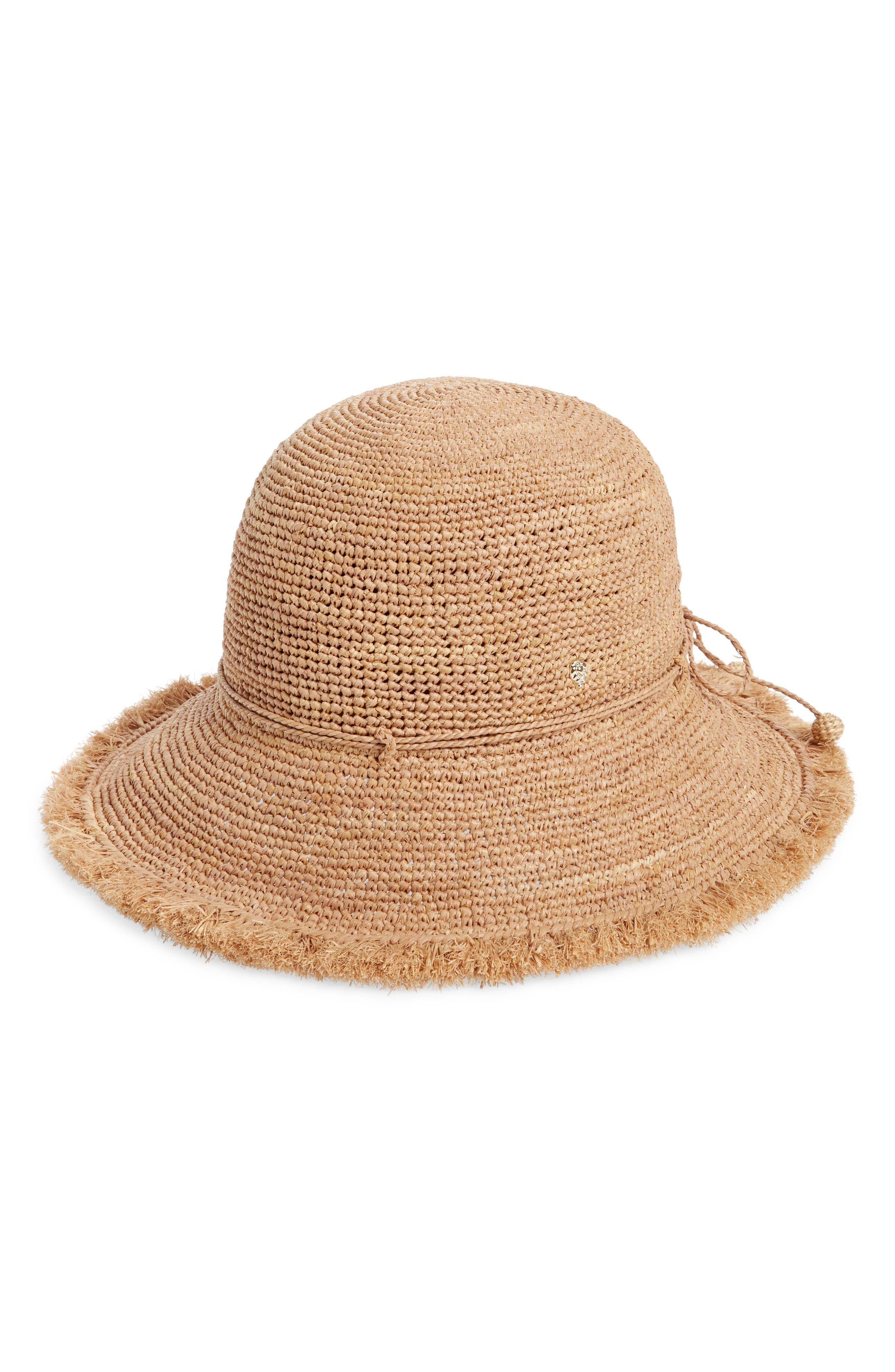 Emmie 9 Packable Raffia Hat