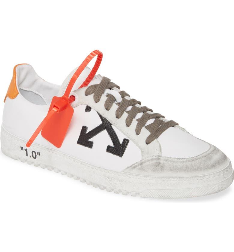 OFF-WHITE 2.0 Sneaker, Main, color, WHITE ORANGE