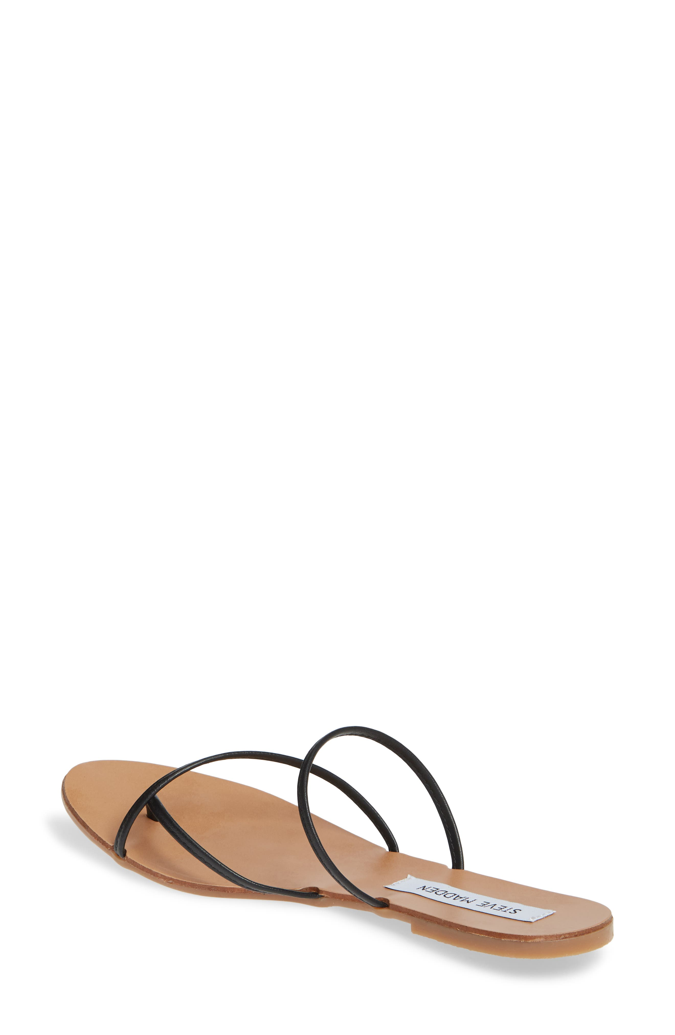 ,                             Wise Strappy Slide Sandal,                             Alternate thumbnail 2, color,                             BLACK