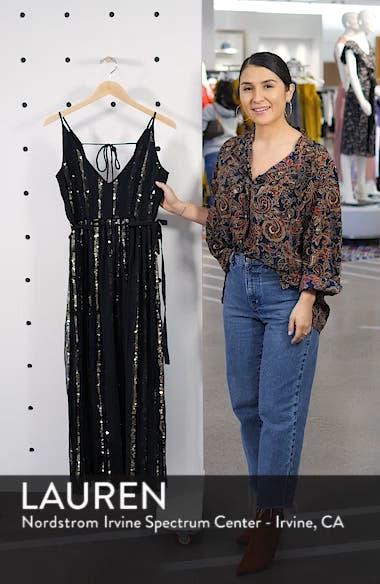 d19a1cd0d6 ... Sequin Stripe Chiffon Maxi Dress, sales video thumbnail ...