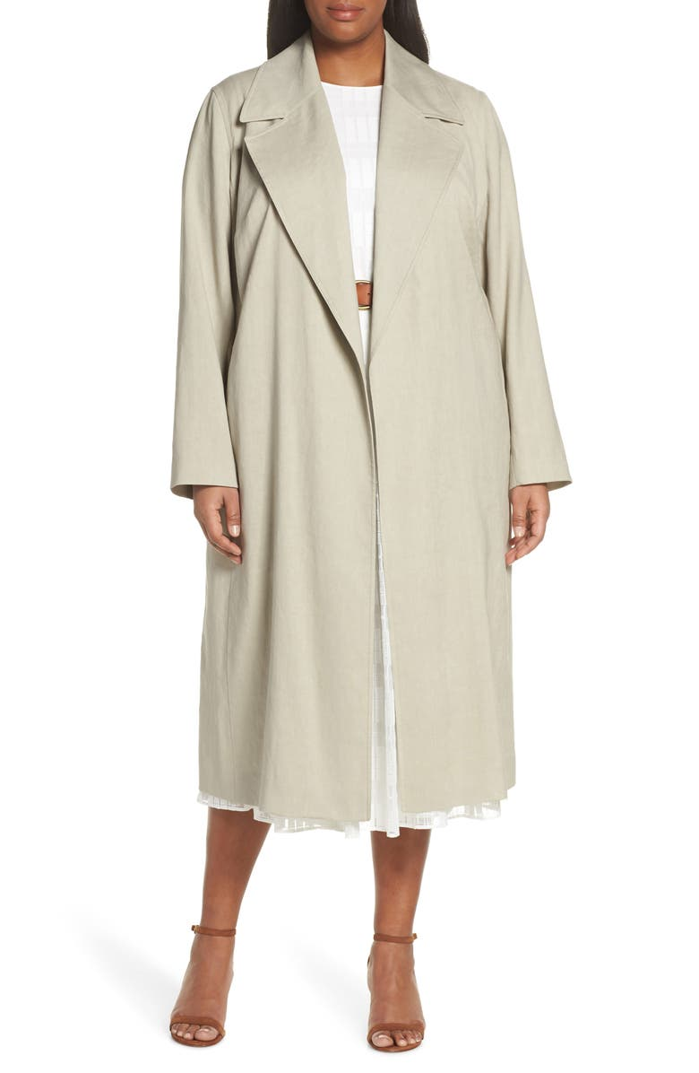 LAFAYETTE 148 NEW YORK Zelida Trench Coat, Main, color, 250
