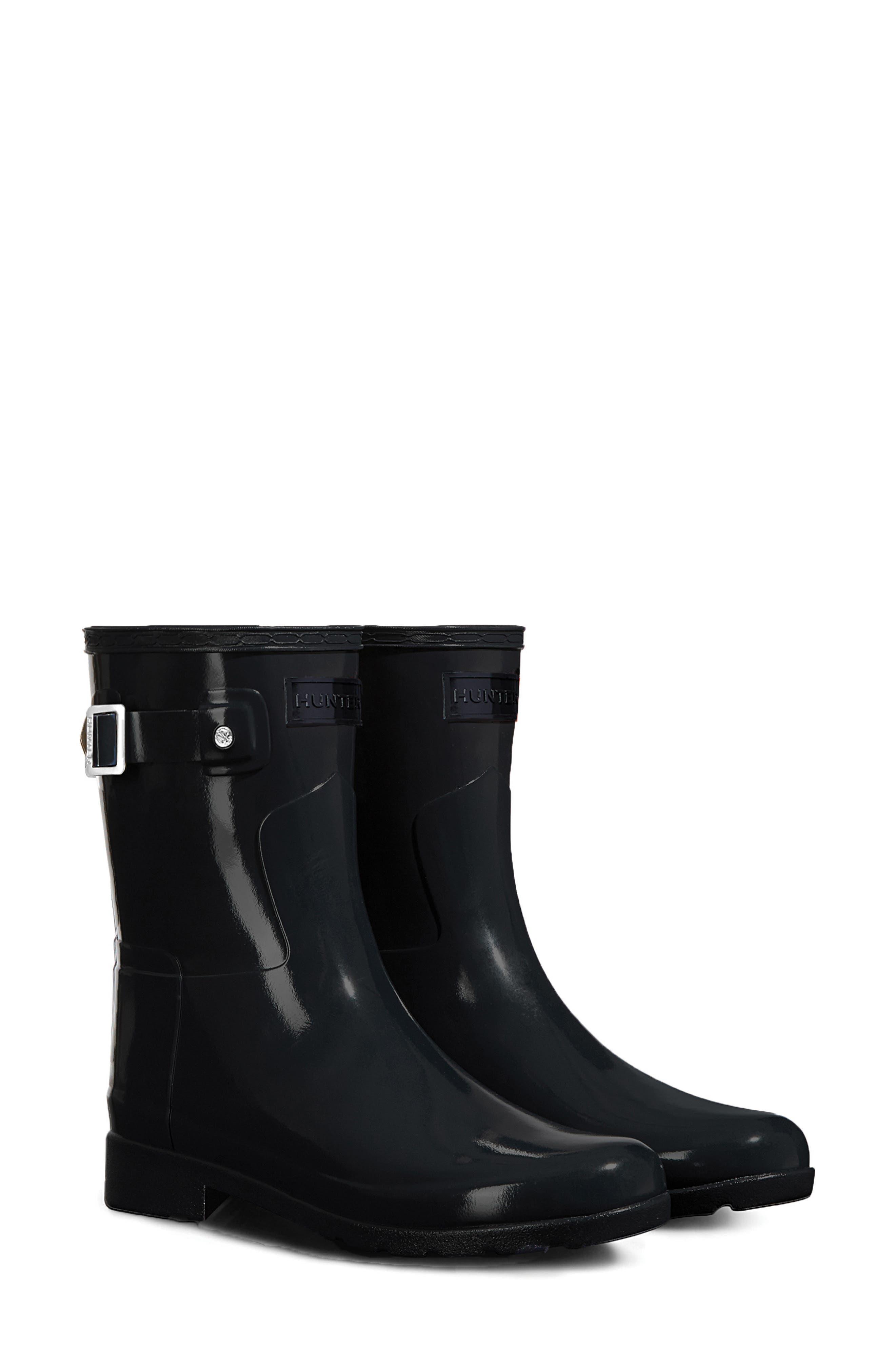Hunter Refined Short Gloss Rain Boot