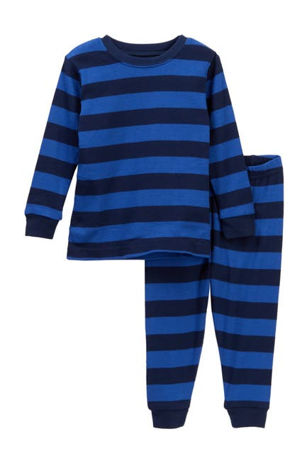 Image of Leveret Two-Piece Pajama Blue