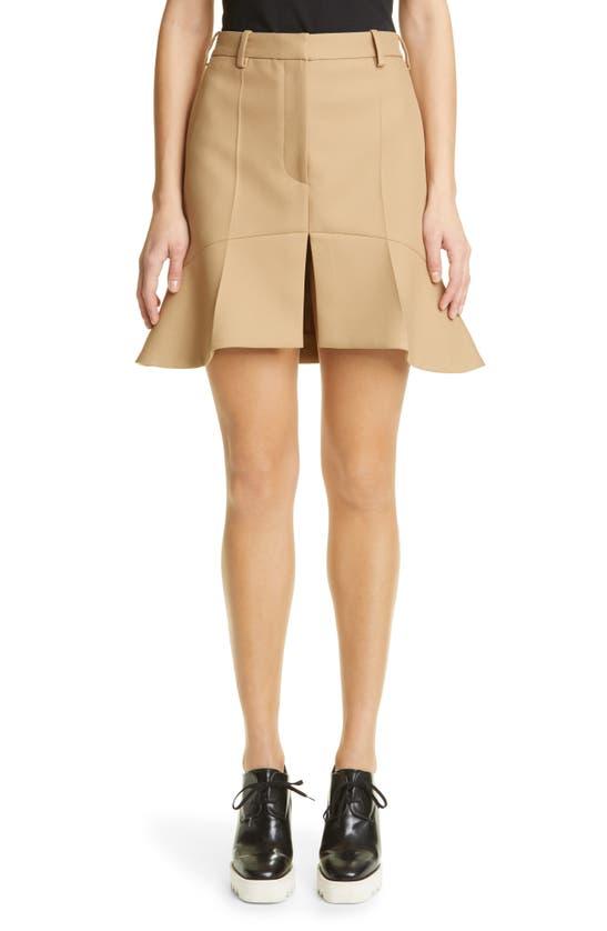 Stella Mccartney Clothing ARABELLA PEPLUM TWILL MINISKIRT