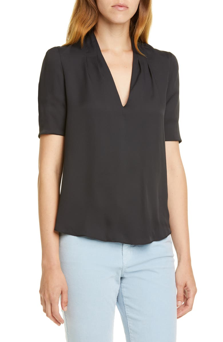 Ance V Neck Blouse by Joie