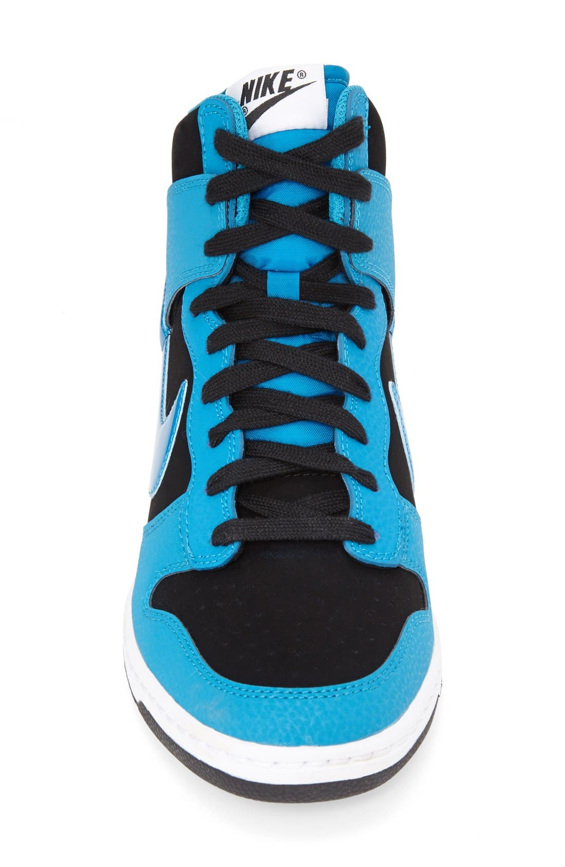 ,                             'Dunk Sky Hi - Essential' Wedge Sneaker,                             Alternate thumbnail 18, color,                             009