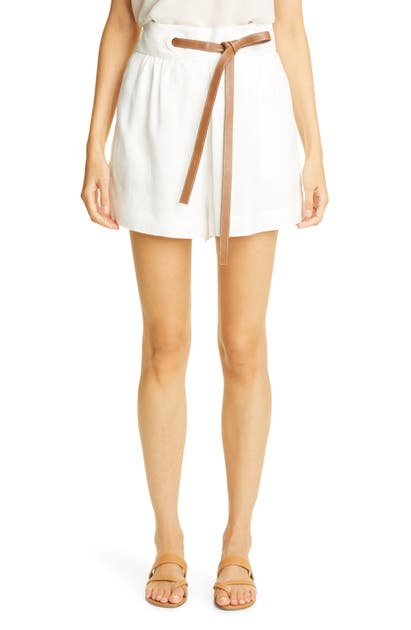 Zimmermann THE LOVESTRUCK EYELET LINEN SHORTS