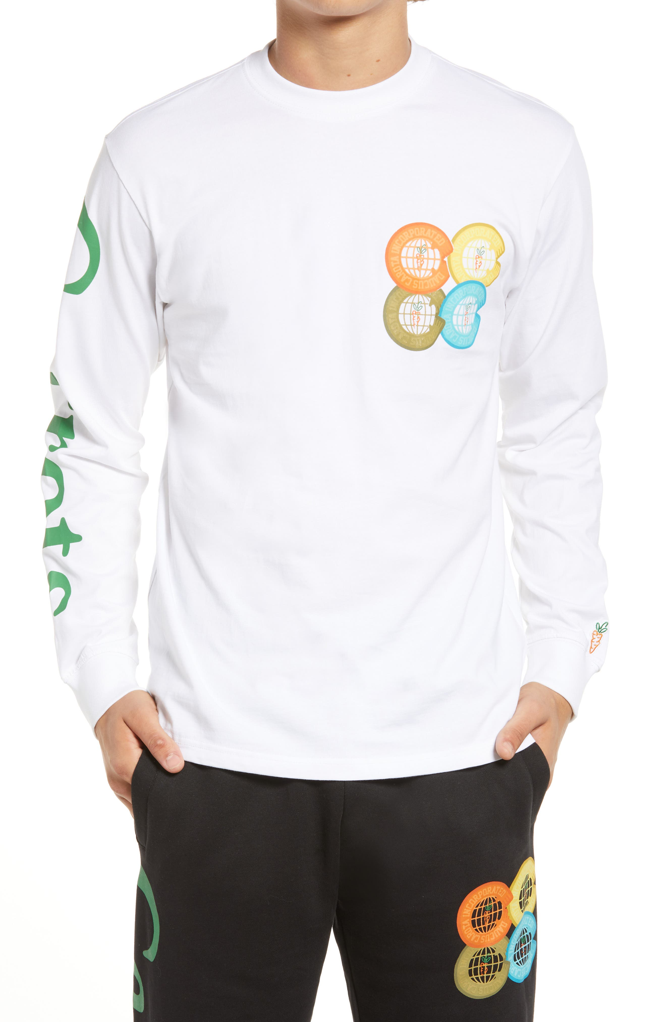 Incorporated Logo Long Sleeve Graphic Tee