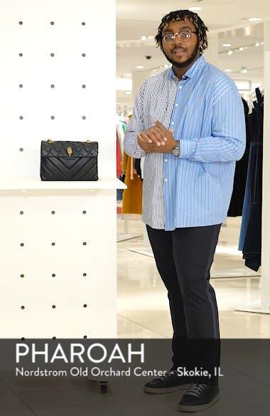 Kensington Quilted Leather Shoulder Bag, sales video thumbnail