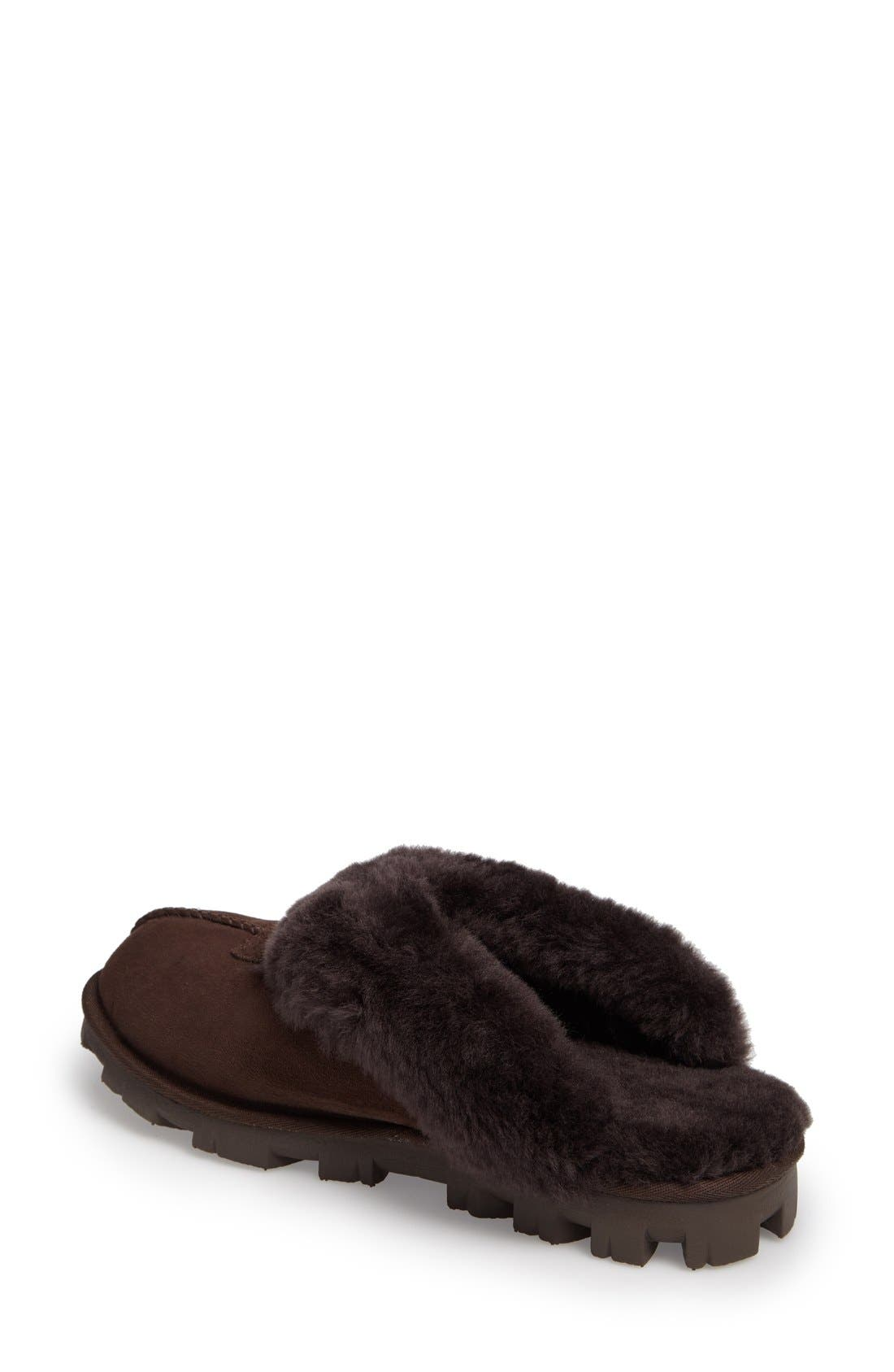 ,                             Genuine Shearling Slipper,                             Alternate thumbnail 172, color,                             CHO