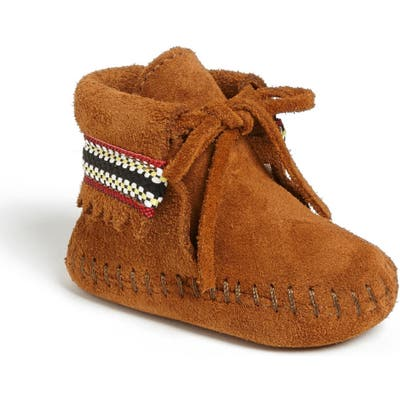 Minnetonka Braid Bootie