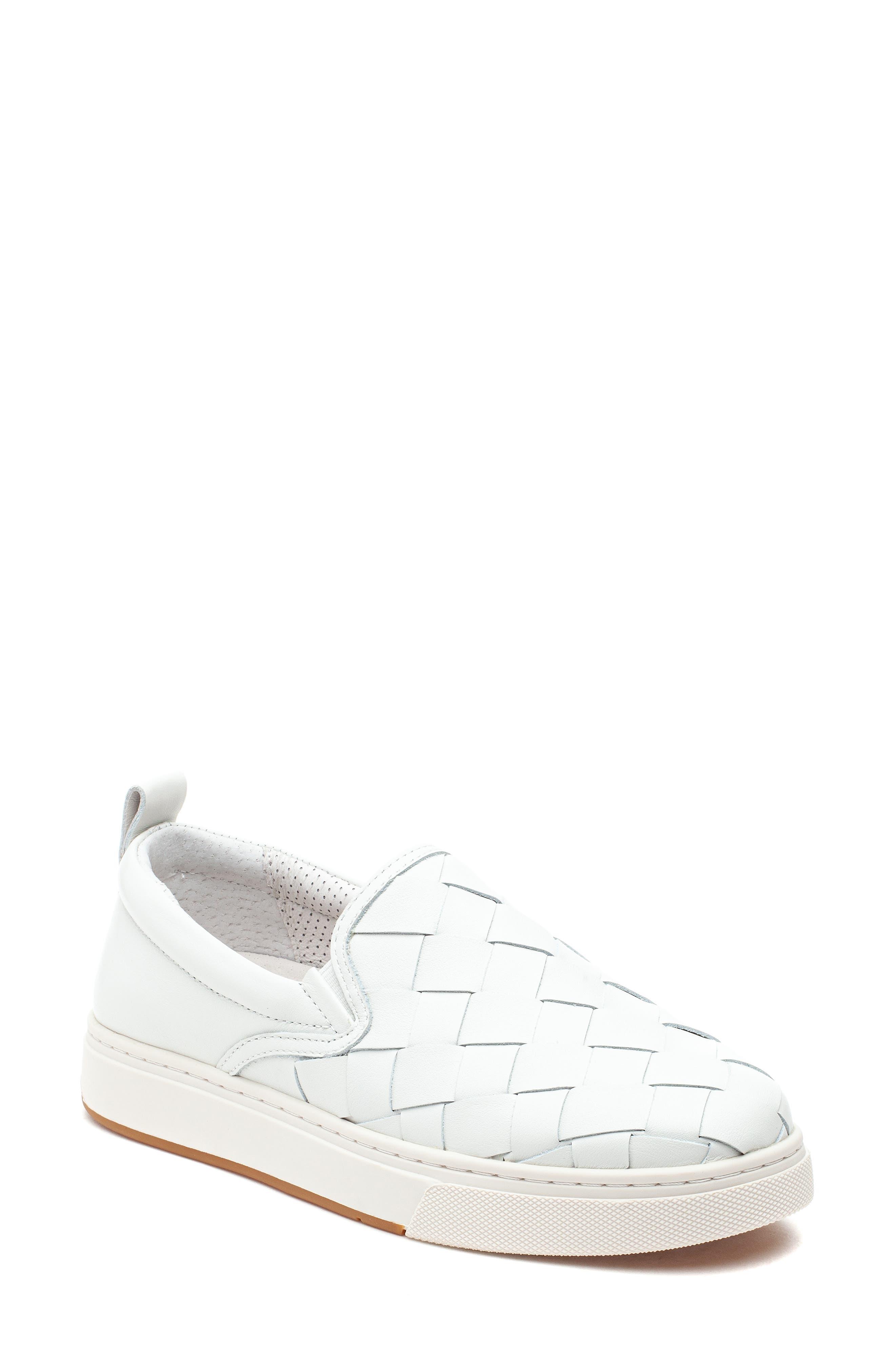 Junior Woven Slip-On Sneaker
