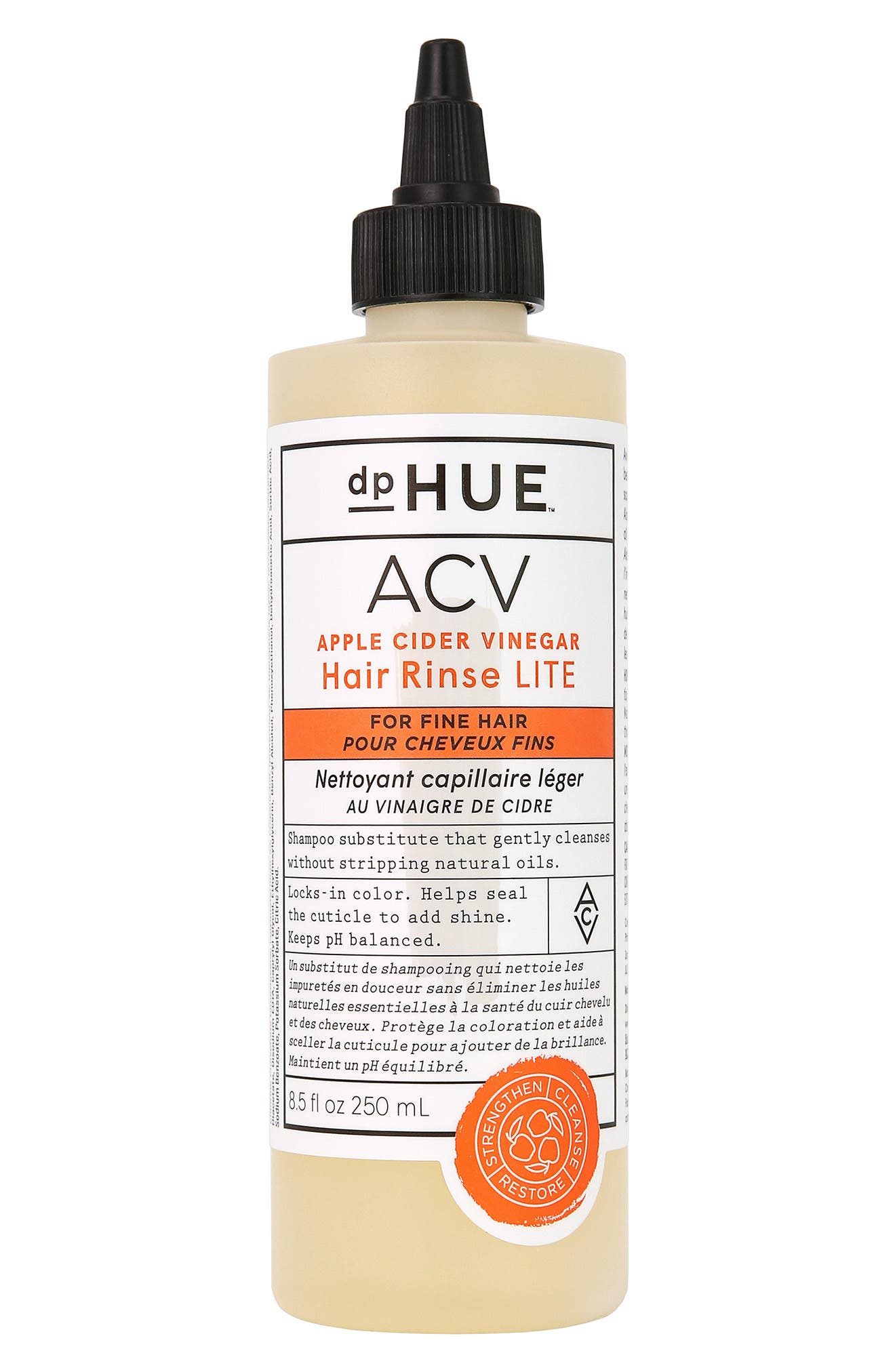 Apple Cider Vinegar Hair Rinse Lite