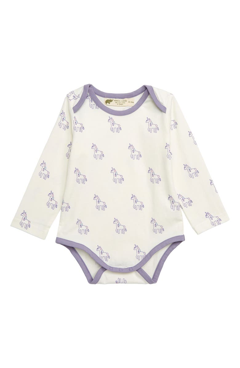 MONICA + ANDY Jack & Jill Bodysuit, Main, color, 100