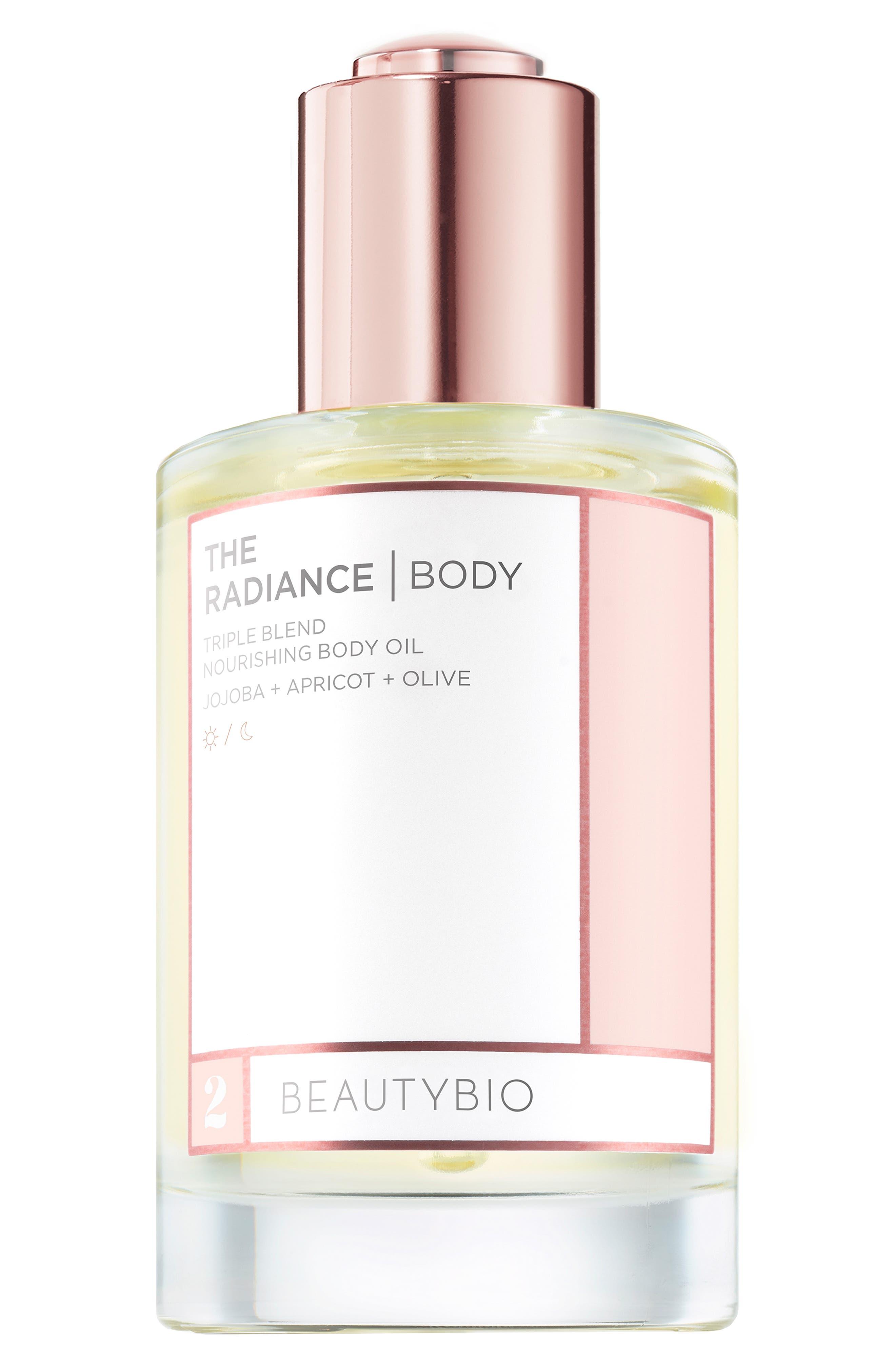 The Radiance Body Triple Blend Nourishing Body Oil