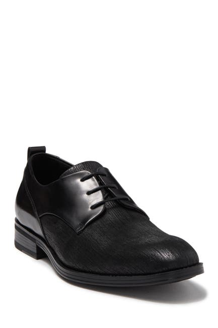 Image of Karl Lagerfeld Paris Textured Contrast Leather Derby