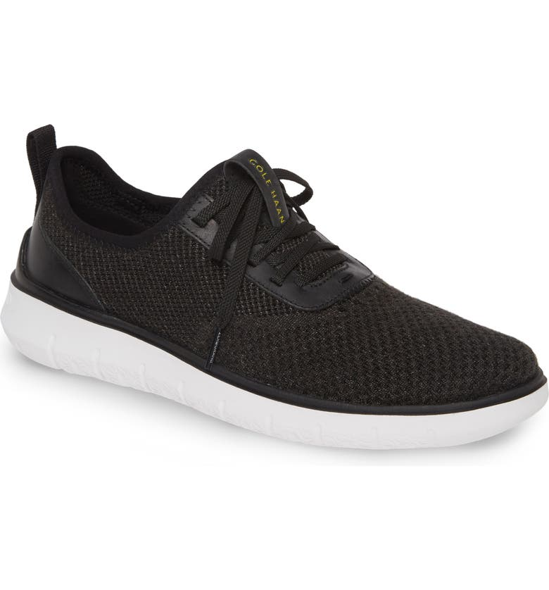 COLE HAAN Generation ZeroGrand Stitchlite Sneaker, Main, color, BLACK STITCHLITE / OPTIC WHITE