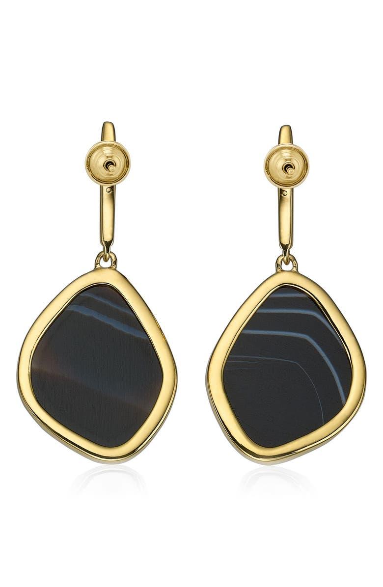 MONICA VINADER Siren Nugget Semiprecious Stone Drop Earrings, Main, color, 001