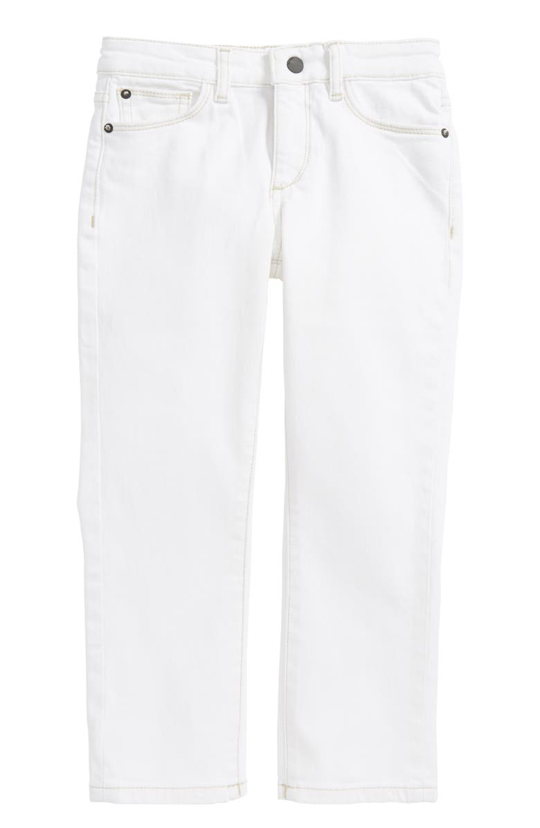 DL1961 Brady Slim Fit Straight Leg Jeans, Main, color, SCRIBBLE