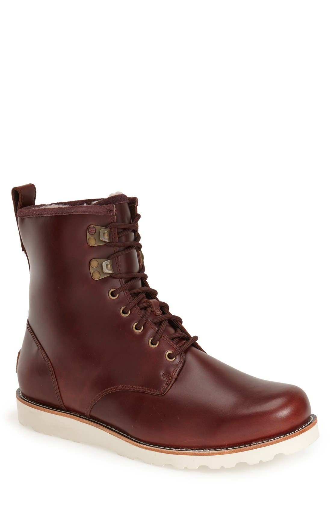 Hannen Waterproof Boot, Main, color, CORDOVAN