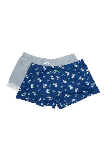 Image of Flora by Flora Nikrooz Assorted Knit Shorts - Pack of 2