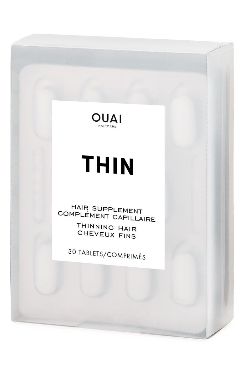 OUAI Thinning Hair Supplement, Main, color, 000