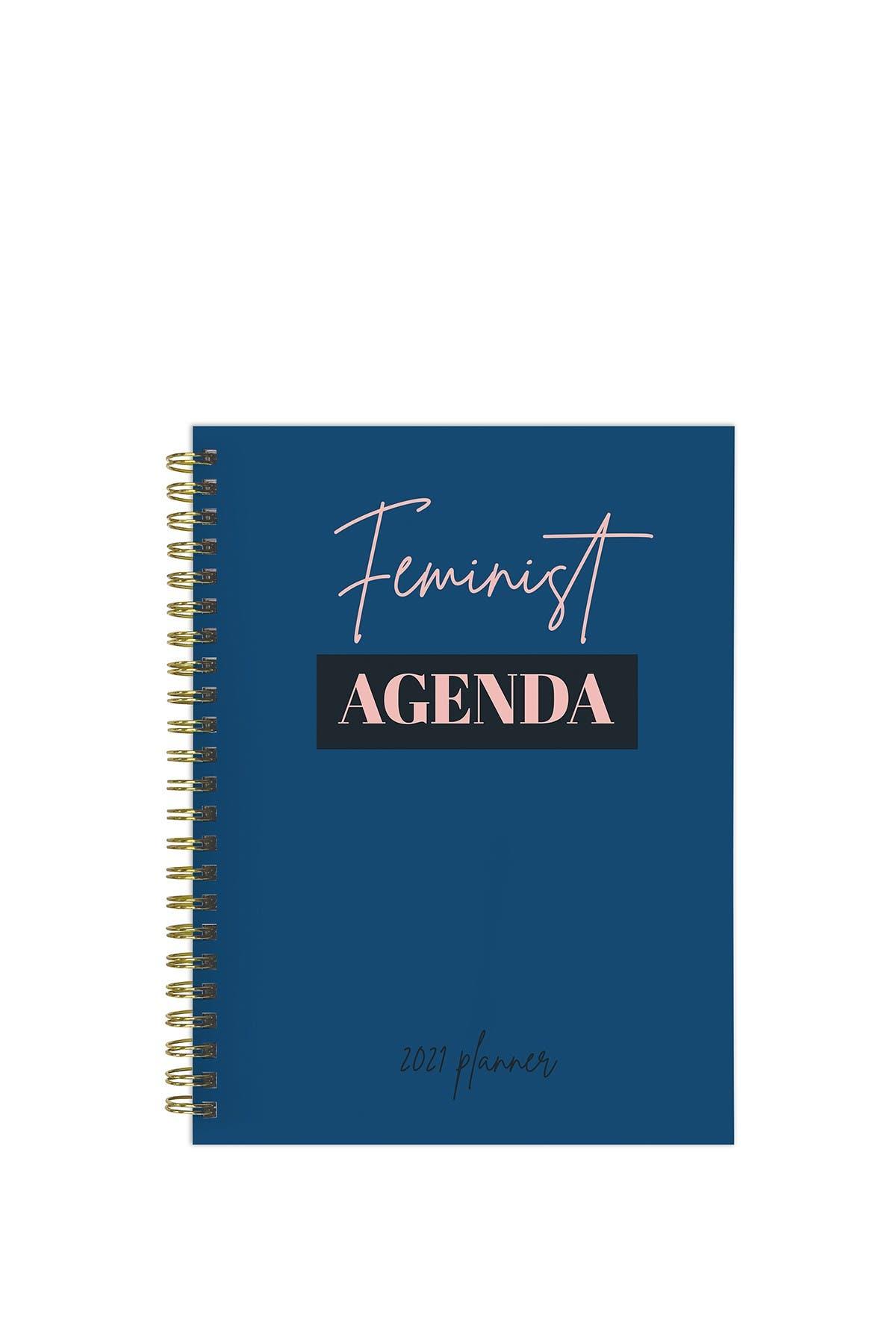 Image of TF Publishing 2021 Feminist Agenda Medium Weekly Monthly Planner