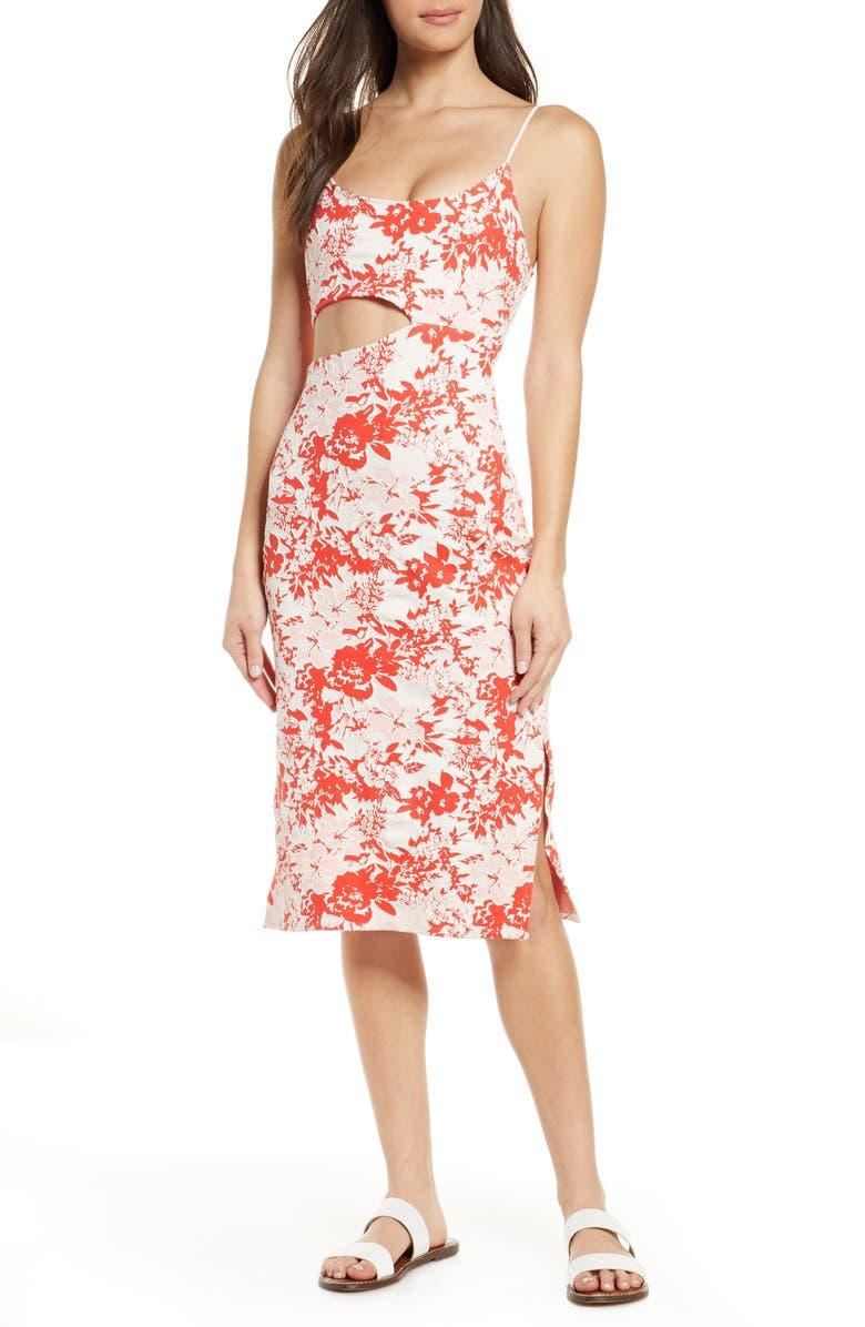 FLAGPOLE Bondi Cover-Up Dress, Main, color, PARADISE