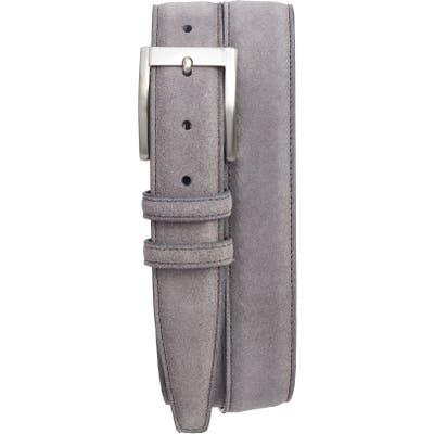 Torino Suede Belt, Grey