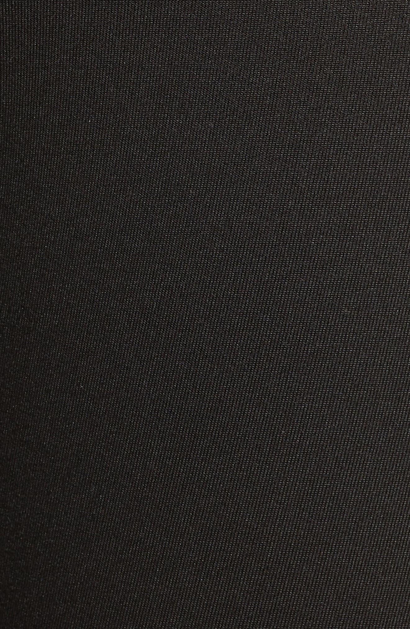 ,                             Centered Crop Leggings,                             Alternate thumbnail 6, color,                             BLACK