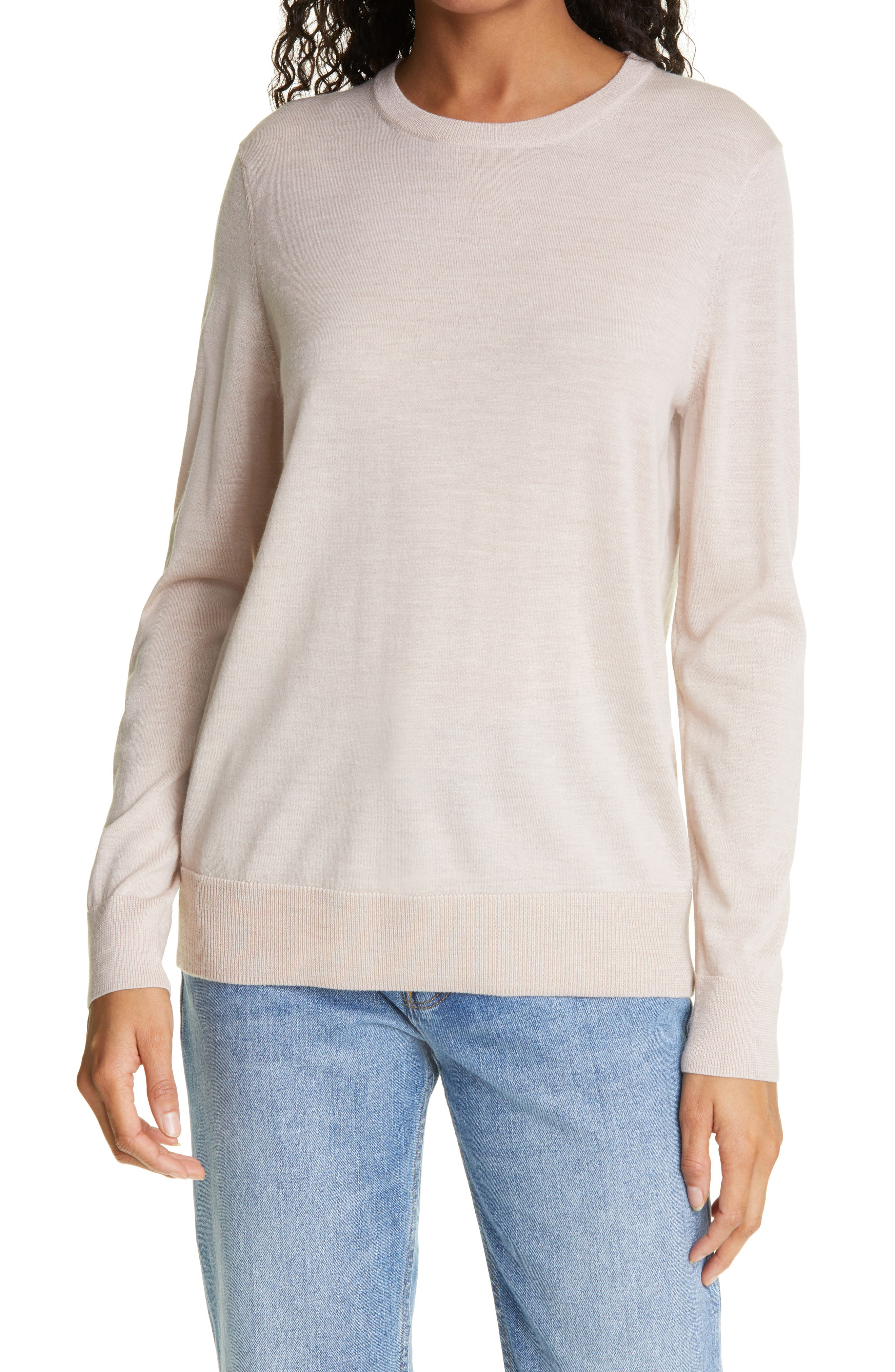 Crosby Merino Wool Crewneck Sweater