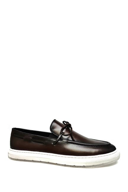 Image of Bacco Bucci Lucea Leather Bit Vamp Loafer
