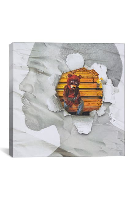 Image of iCanvas The College Dropout Remixed by Josiah Jones
