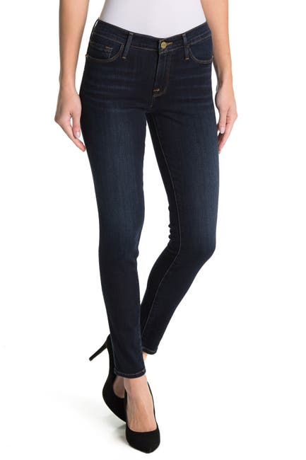 Image of FRAME Le Skinny de Jeanne High Rise Skinny Jeans