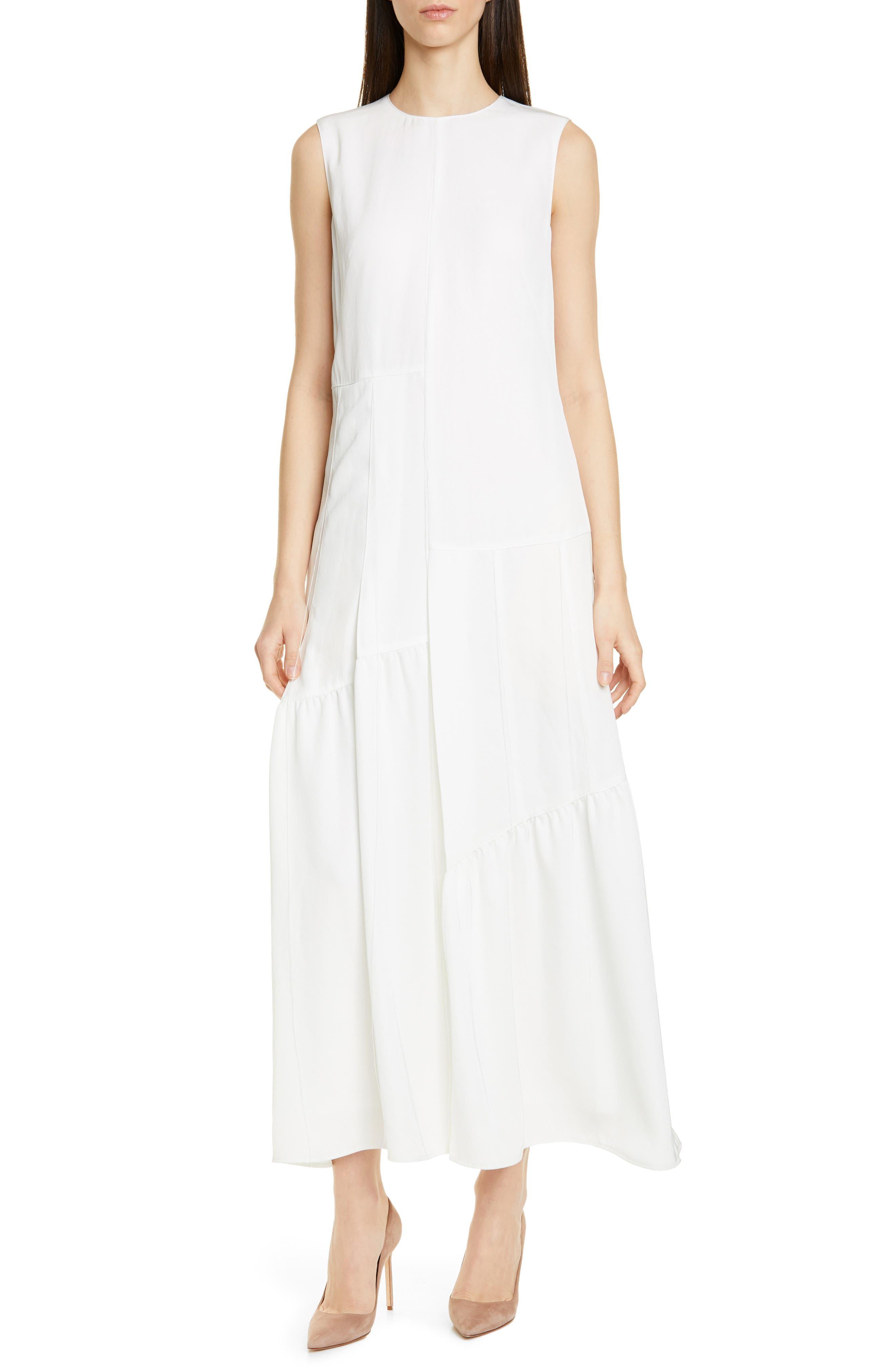 Boss Dewitty Maxi Dress, White