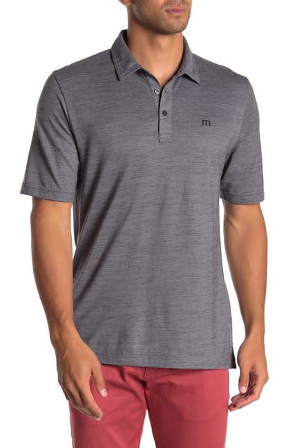 Image of TRAVIS MATHEW Flying Tortilla Heathered Polo