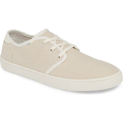Toms Carlo Low Top Sneaker- White