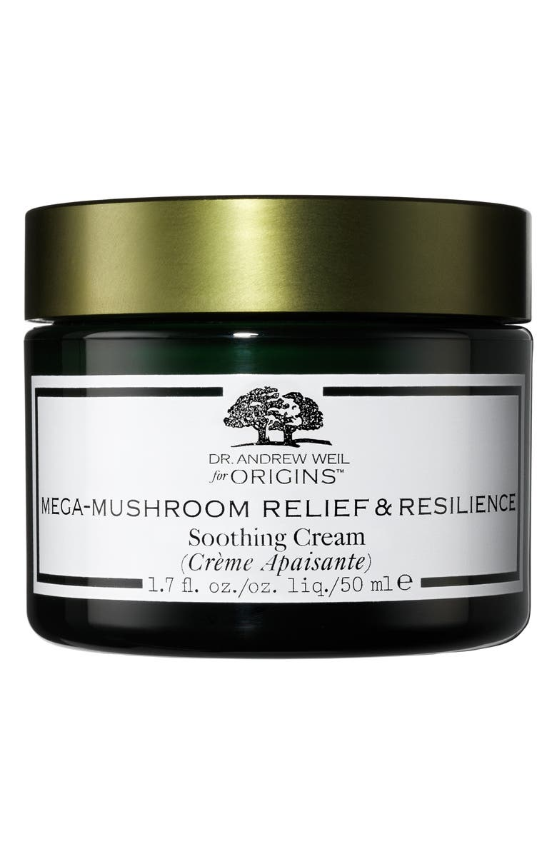 ORIGINS Dr. Andrew Weil for Origins<sup>™</sup> Mega-Mushroom Relief & Resilience Soothing Cream, Main, color, NO COLOR