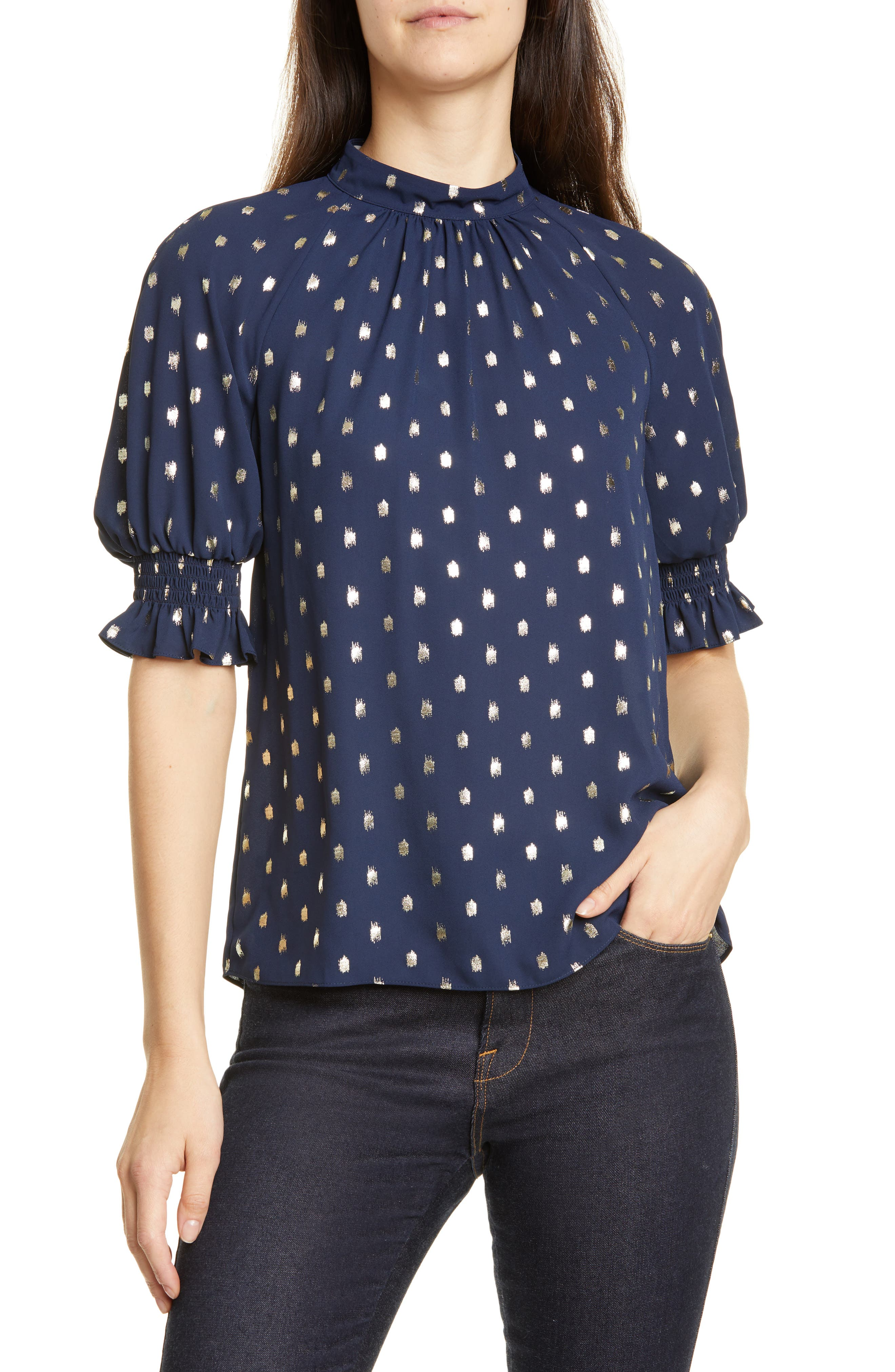Ted Baker London Tops Puff Sleeve Top