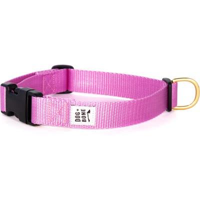 Dog + Bone Snap Collar, Pink