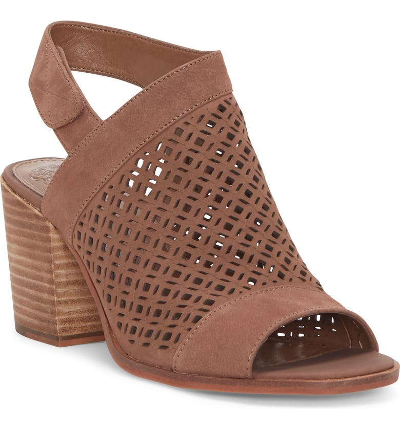 VINCE CAMUTO Kanito Sandal, Main, color, SMOKE TAUPE NUBUCK LEATHER