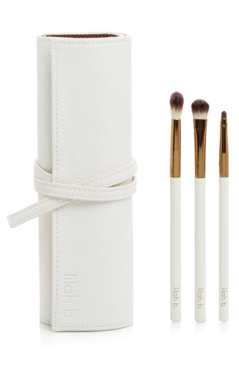 LILAH B. For Your Eyes Only Brush Set, Main, color, NO COLOR