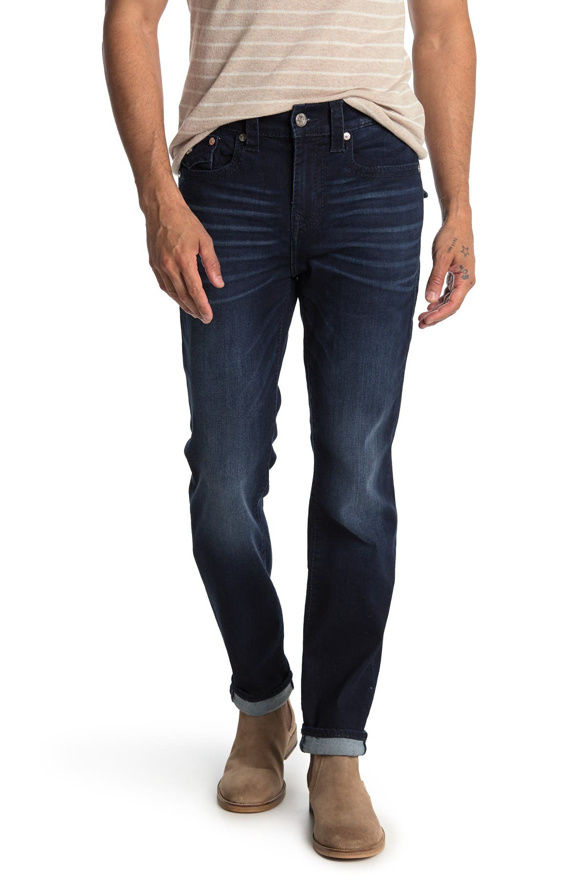 Image of True Religion Rocco Flap Pocket Straight Leg Jeans