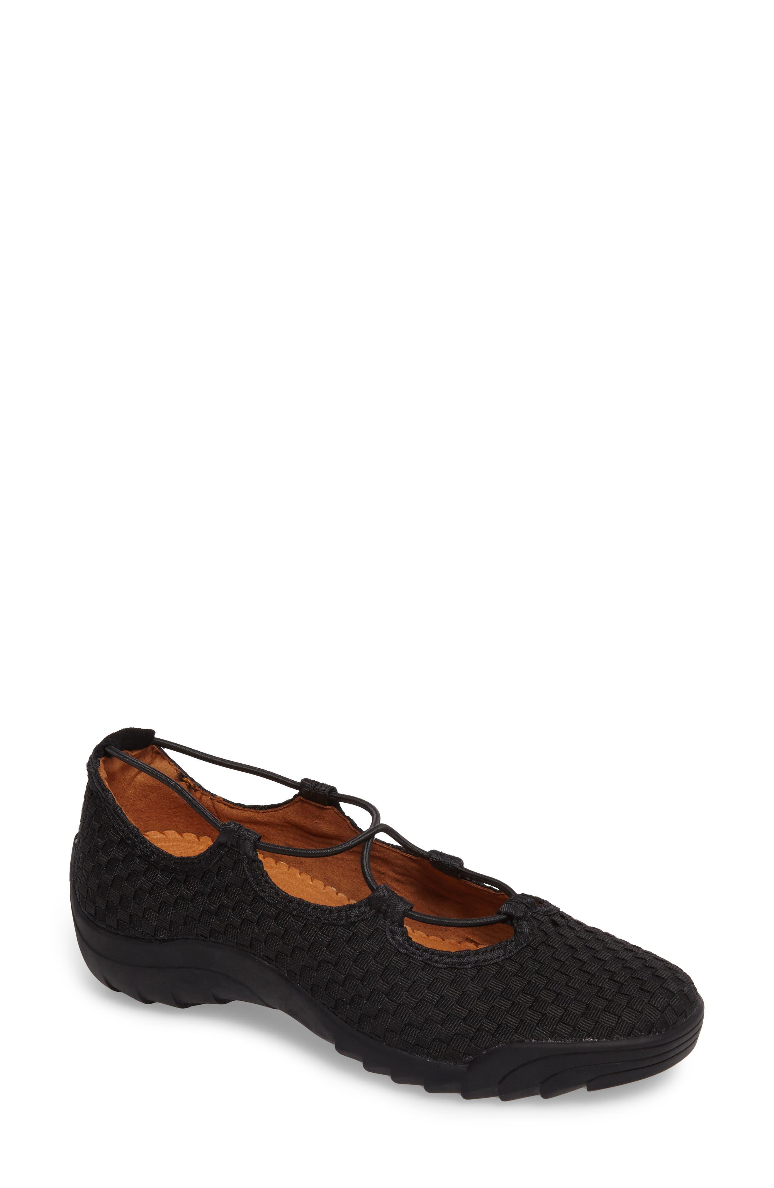 Bernie Mev Rigged Connect Sneaker, Black
